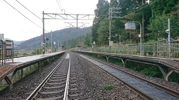 南今庄駅 福井方を望む