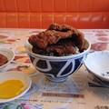 ソースカツ丼とメンチカツ単品