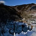 Photos: 氷柱と・・・