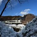 写真: 氷柱と・・・2
