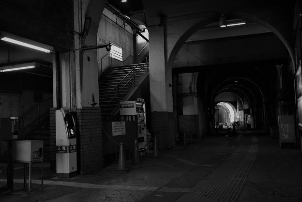 写真: 国道駅