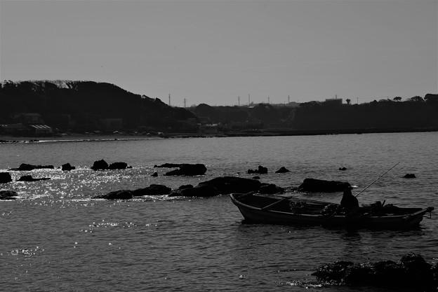 写真: 春の海