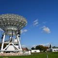 写真: 電波望遠鏡