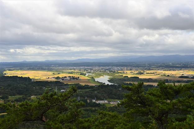 北上川の流れる風景