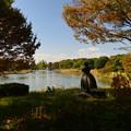 写真: 初秋の公園