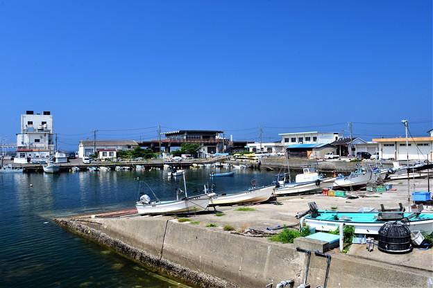 夏の漁港2