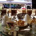 ペナン・オープンカフェでブランチが定番です