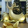 トナカイアートとクリスマスツリー・2