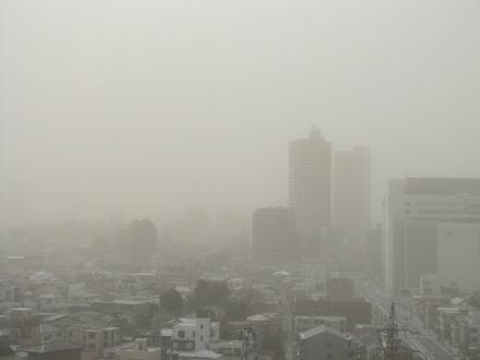 煙霧(2013.03.10、13時30分)