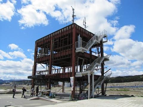 南三陸町「防災対策庁舎」