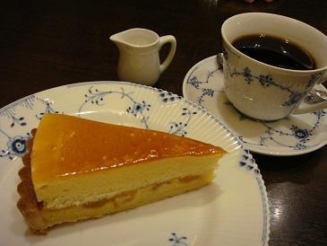 椿屋茶房 「ケーキセット」