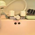 Photos: 洗面 水垢クリーナー 混合栓交換