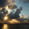Photos: 夕陽が綺麗だった