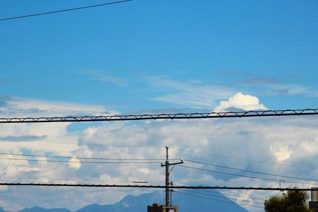 もう夏の雲