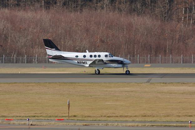 Beech C90GTI KingAir N81MX