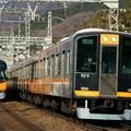 阪神電車と近鉄特急