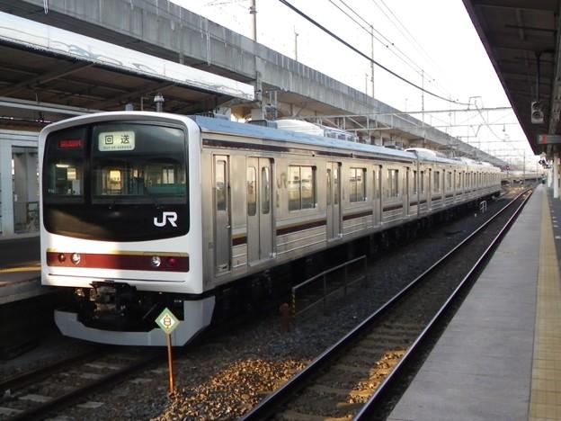 205系600番台(日光線用) Y10編成 OM出場回送
