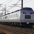 Photos: 485系長野車 N201編成 「彩(いろどり)」