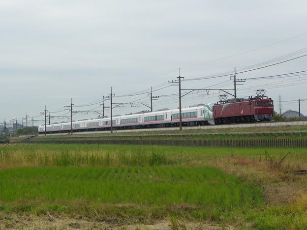 EF81 81+E657系K16編成 甲種輸送