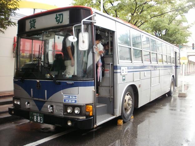 新潟交通 三菱ふそうエアロスター P-MP218P(廃車済)