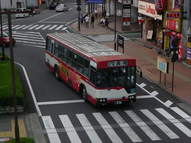 東野交通 三菱ふそう・エアロスター U-MP218M