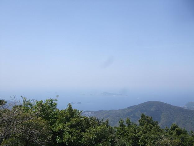 八郎岳頂上からの眺め 2