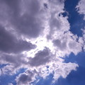 Photos: 雲間の太陽