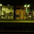 中神駅のホームから見た、「街の裏側」