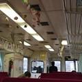 明知鉄道 車内(1)