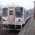 明知鉄道 コスプ列車 (1)