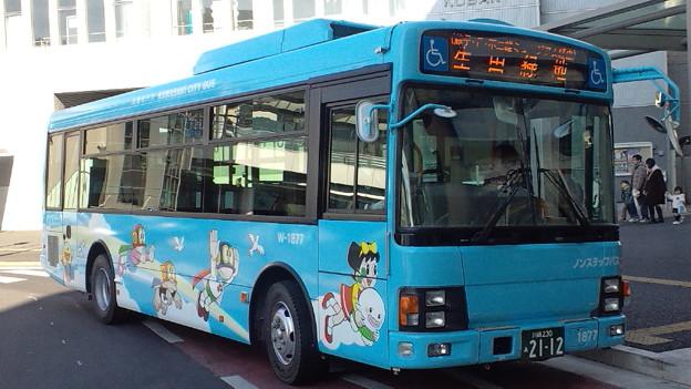 川崎市バス鷲ヶ峰営業所W-... - ...
