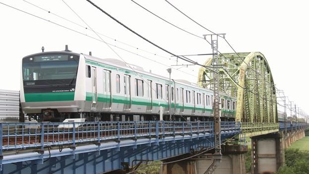 Photos: E233@荒川橋梁