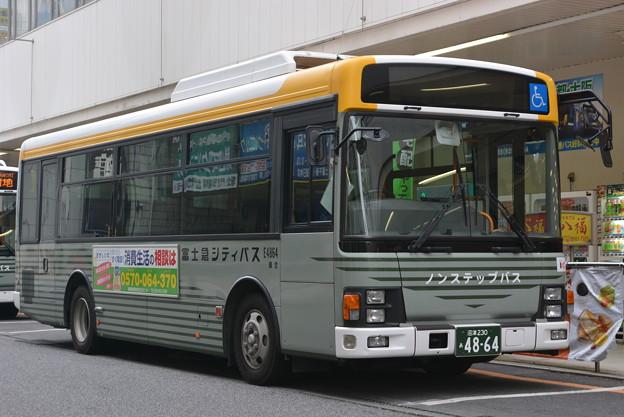 富士急シティバス 沼津営業所 E4...