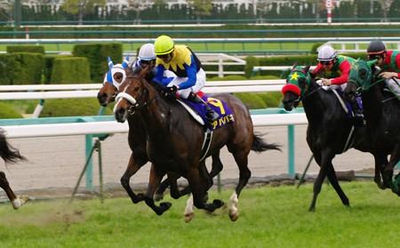 2010//04/11 桜花賞 アパパネ号