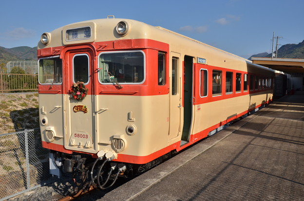 動態保存車 キハ58003