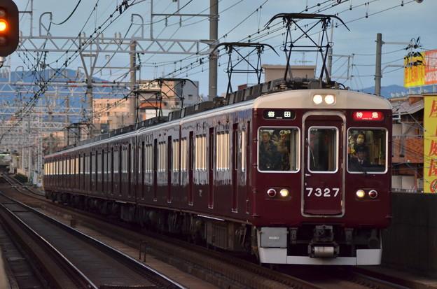 阪急京都線 7327F