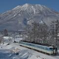 Photos: 白銀世界の黒姫山