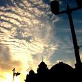 公会堂夕景