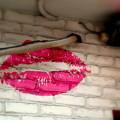 ピンクのルージュ