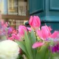 花咲く街角