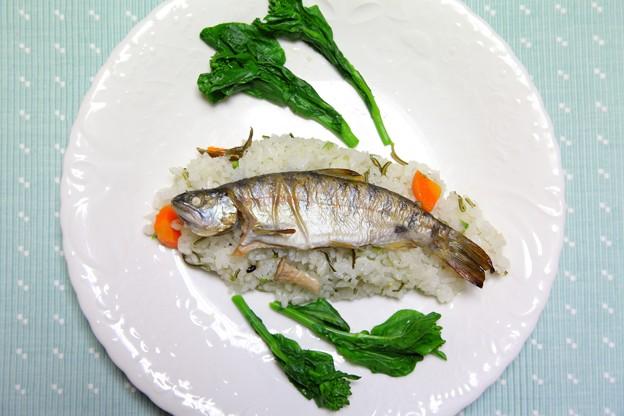 ヤマメシ(ヤマメ御飯)