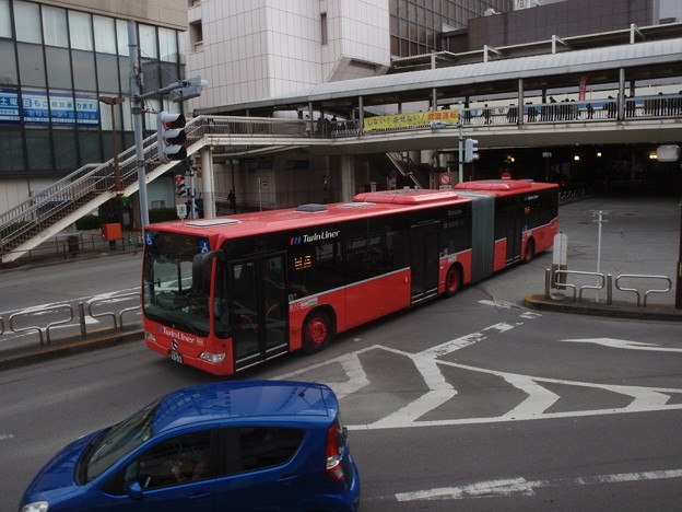 ツインライナー (2) / Kanachu, articulated bus @ Machida