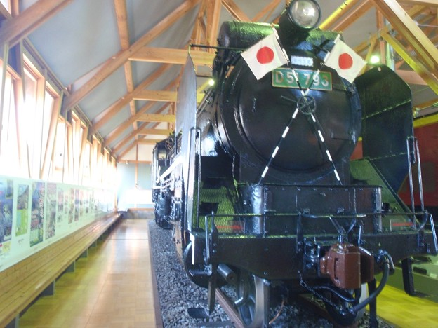 D51 793, static displayed @ ex-Nagahama Station building