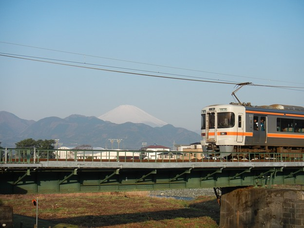 JR Central, 313 and Mount Fuji