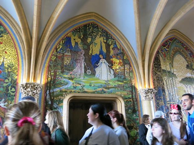 シンデレラ城の中