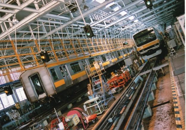 電車の工場