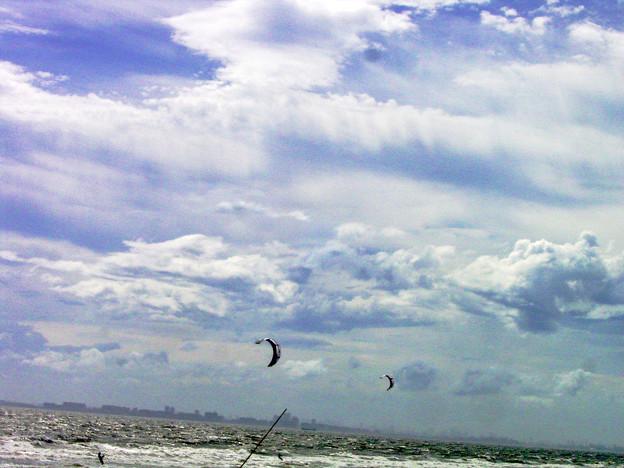カイト カイトサーフィン 水上スキー 海 0714 006