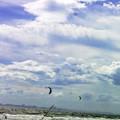 Photos: カイト カイトサーフィン 水上スキー 海 0714 006