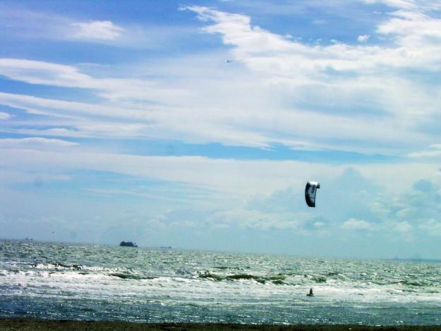 カイト カイトサーフィン 水上スキー 海 0714 005