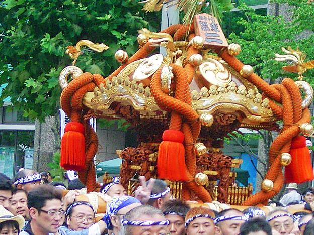 八幡祭り 神輿渡御 0817 080